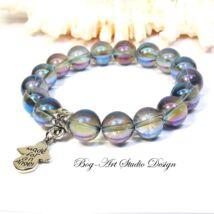 Aura Akva karkötő angyalka medállal
