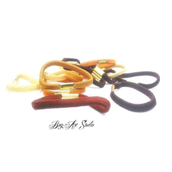 Bog-Art Studio - Hajgumi - toldott - 5 cm - 15 db - barna